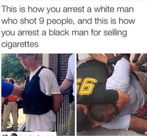detencio negre i blanc